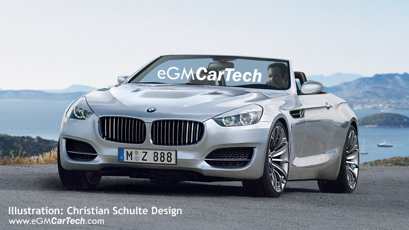 Looks like the rumored BMW Z9 is just the next Z4 afterall.