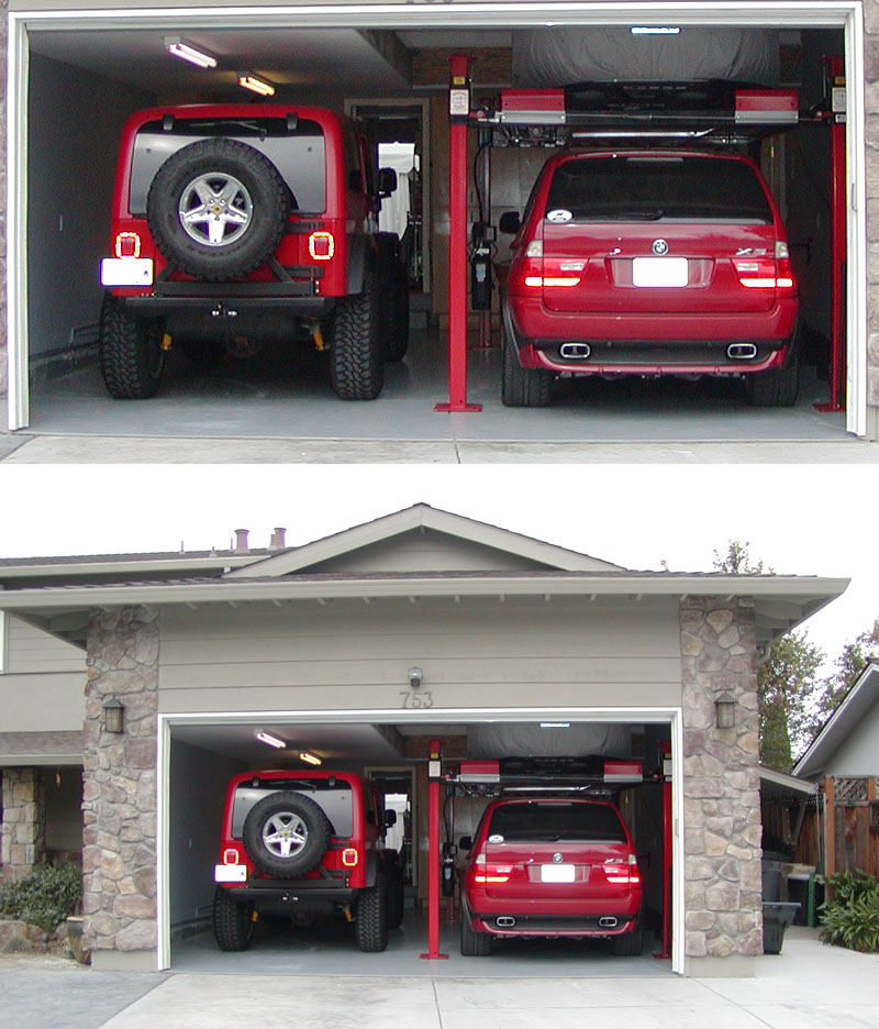 Backyard Buddy - Garage Storage Lifts